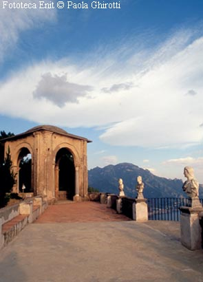Belvedere Villa Cimbrone in Sorrento
