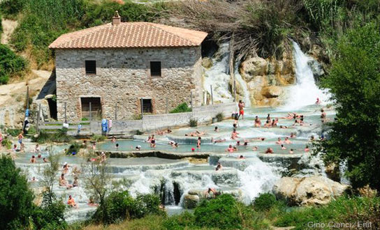 Saturnia Thermen in Manciano - Grosseto